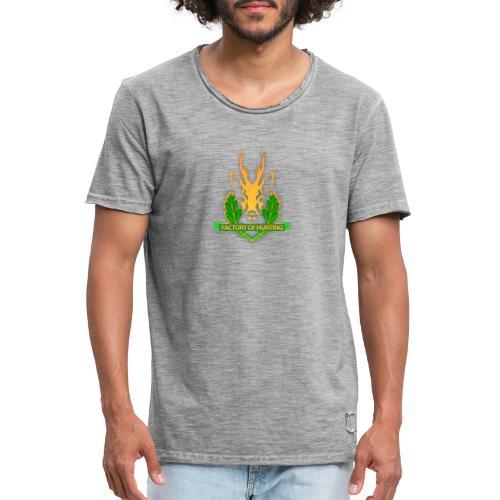 Factory of Hunting - alles für deine Jagd - Männer Vintage T-Shirt