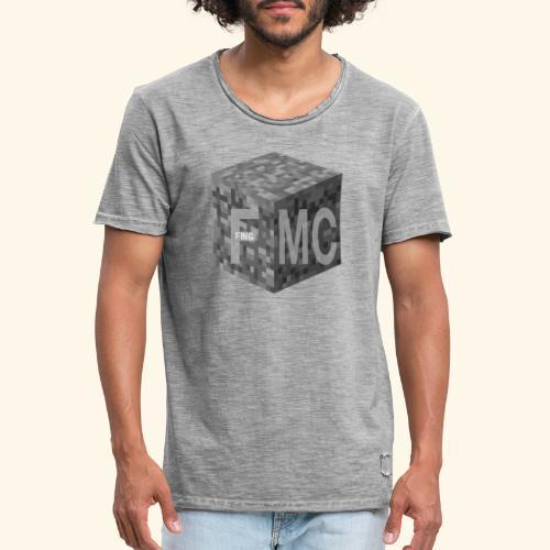 FingMC Logo - Männer Vintage T-Shirt