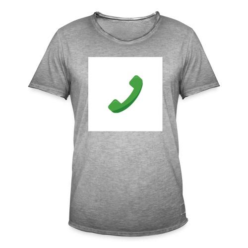 Telefon - Männer Vintage T-Shirt
