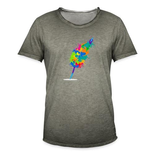 Original Schreiben-im-Flow.de - Feder - Männer Vintage T-Shirt