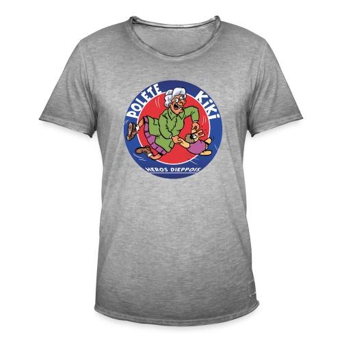 tshirt polete heros dieppois - T-shirt vintage Homme