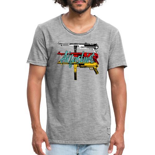 Alfashirt Mp40 - Männer Vintage T-Shirt