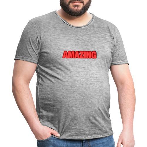 Amazing T-Shirt - Vintage-T-shirt herr