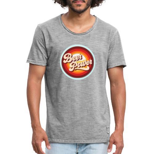 Beer Power - Männer Vintage T-Shirt