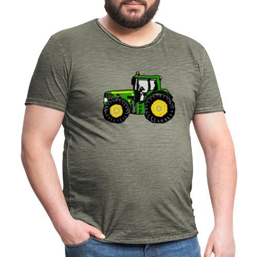 Trecker - Männer Vintage T-Shirt
