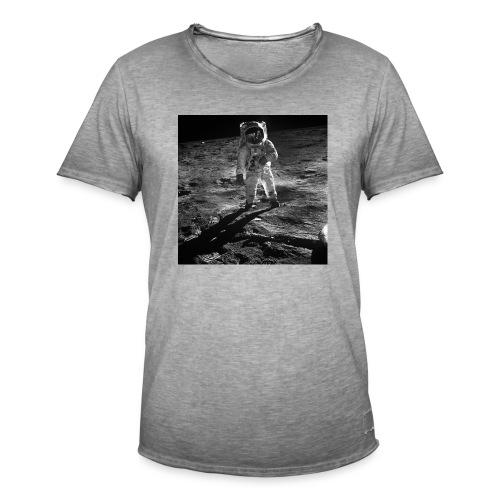 moon landing apollo - Vintage-T-shirt herr