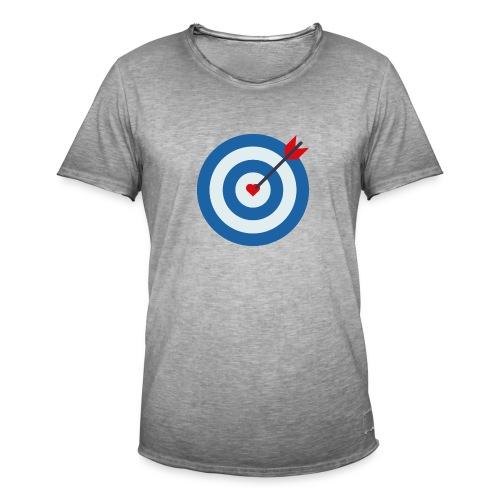 LOVE TARGET - Men's Vintage T-Shirt