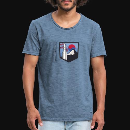 Launch VA252 - Men's Vintage T-Shirt