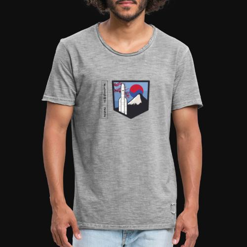 Launch VA252 - Men's Vintage T-Shirt