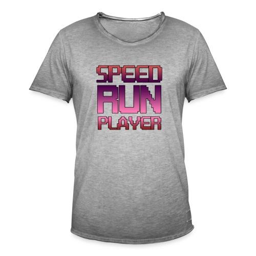 Speedrun player - T-shirt vintage Homme