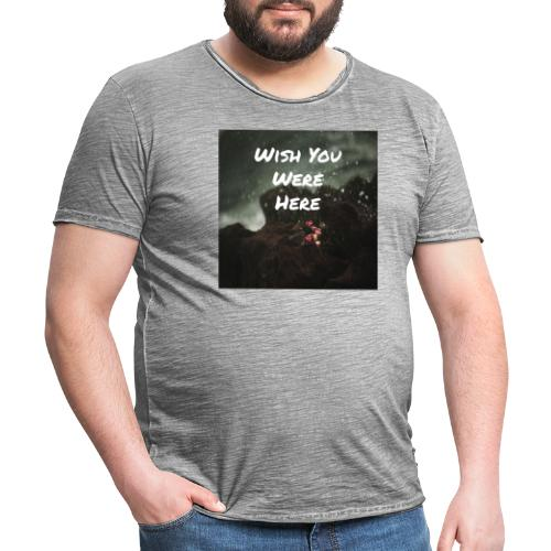 Wish You Were Here - Vintage-T-shirt herr