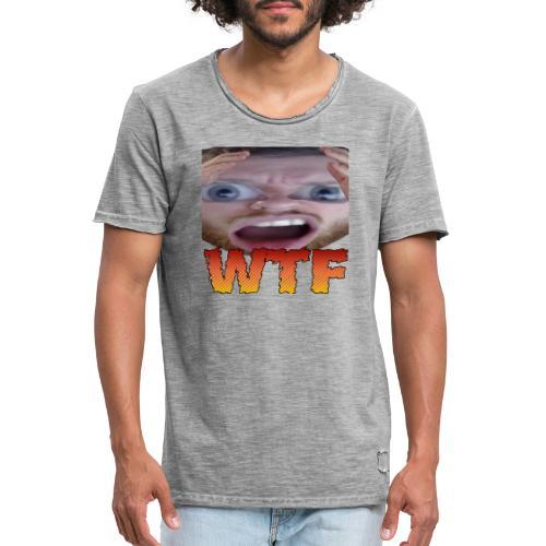 wtf - T-shirt vintage Homme