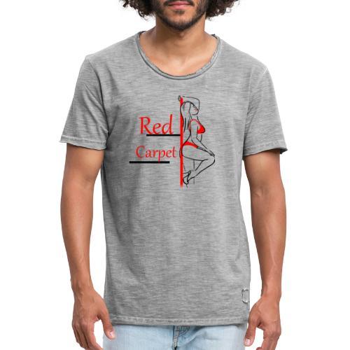 red carpet - T-shirt vintage Homme