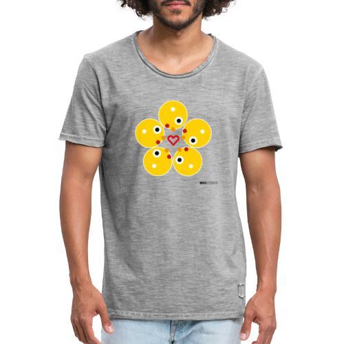 WIO LOVE - Camiseta vintage hombre