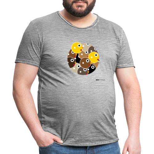 WIO SKIN COLOR - Camiseta vintage hombre