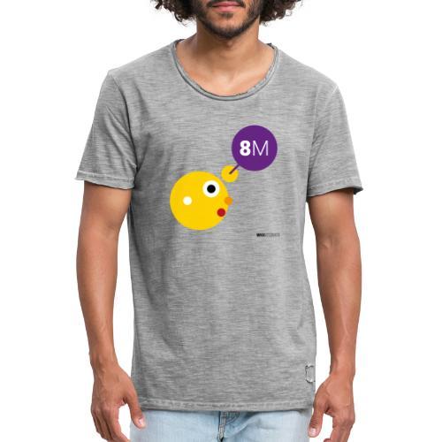WIO 8M - Camiseta vintage hombre
