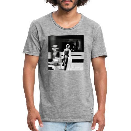 Monk - Männer Vintage T-Shirt