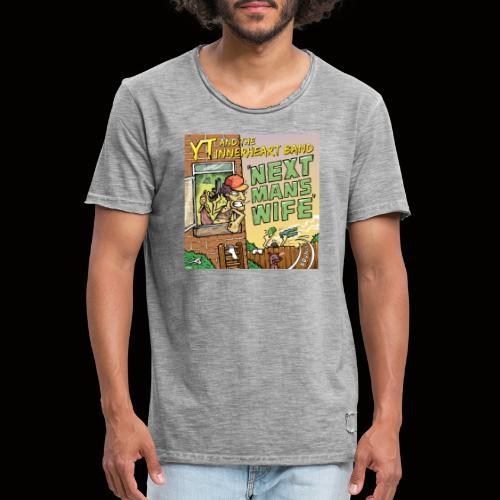 Next Man's Wife Artwork - Men's Vintage T-Shirt