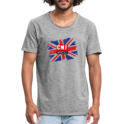 CMF RADIO UNION JACK - Men's Vintage T-Shirt