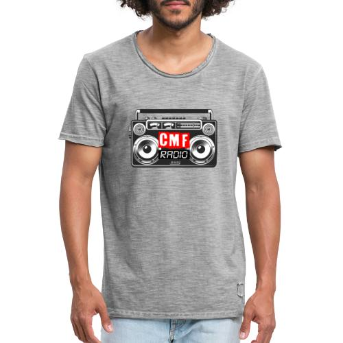 CMF RADIO VINTAGE RADIO - Men's Vintage T-Shirt