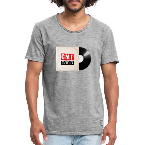 CMF RADIO VINYL RECORD - Men's Vintage T-Shirt