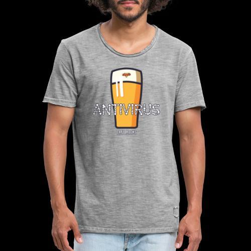 Antivirus - Mannen Vintage T-shirt