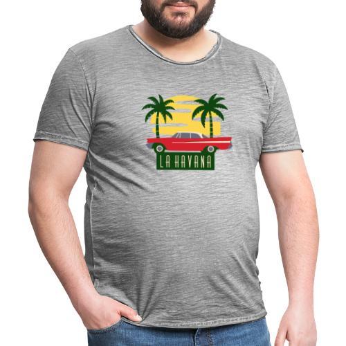 La Havana Vintage - Männer Vintage T-Shirt