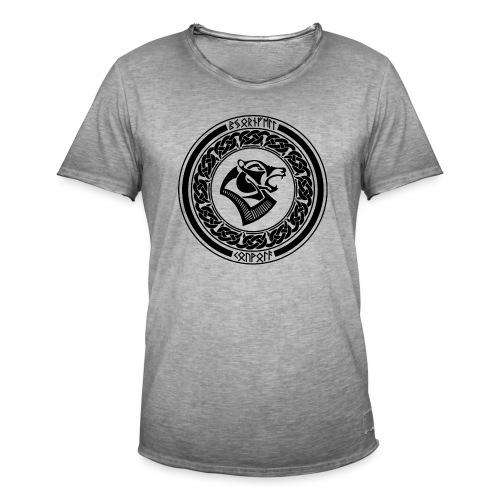 BjornfellRisingBlack - Miesten vintage t-paita