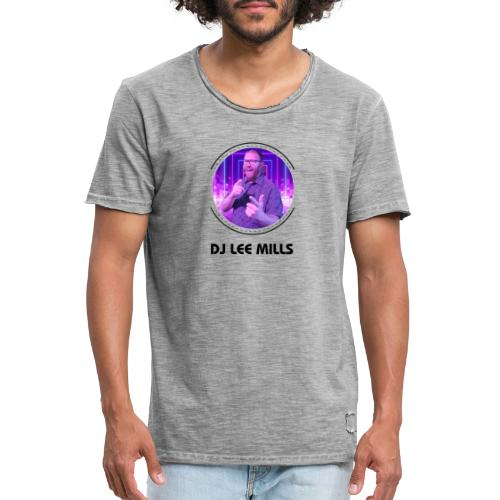 DJ LEE MILLS - Men's Vintage T-Shirt