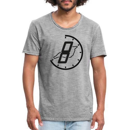Official 8h Imola Logo - Männer Vintage T-Shirt
