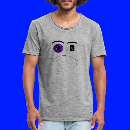 black eye - Vintage-T-shirt herr