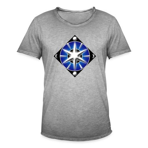 Blason elfique - T-shirt vintage Homme