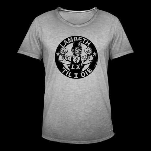 LAMBETH - BLACK - Men's Vintage T-Shirt