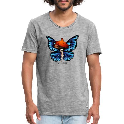 Mystified Butterfly - Mannen Vintage T-shirt