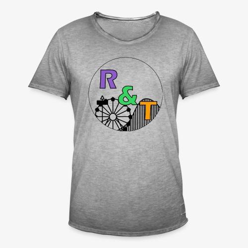 *Limited Edition* Robin & Thomas Merch Zwart - Mannen Vintage T-shirt