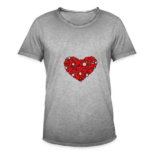 Hjertebarn - Herre vintage T-shirt