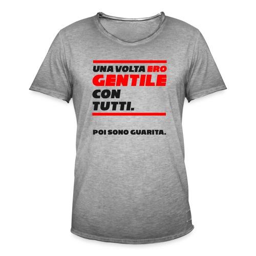 COVER UNA VOLTA ERO GENTILE CON TUTTI. - Maglietta vintage da uomo