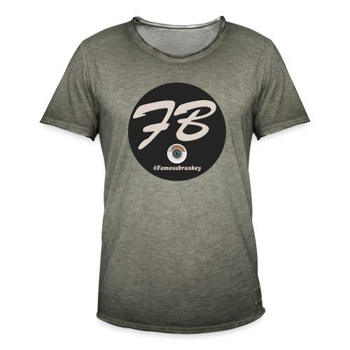 TSHIRT-INSTATUBER-METLOGO - Mannen Vintage T-shirt