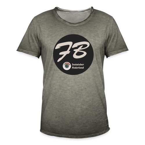 TSHIRT-INSTATUBER-NEDERLAND - Mannen Vintage T-shirt