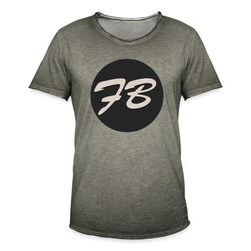 TSHIRT-INSTAGRAM-LOGO-KAAL - Mannen Vintage T-shirt