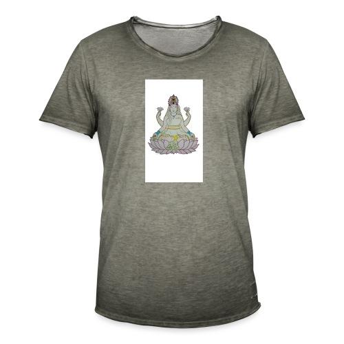 lotus - Camiseta vintage hombre