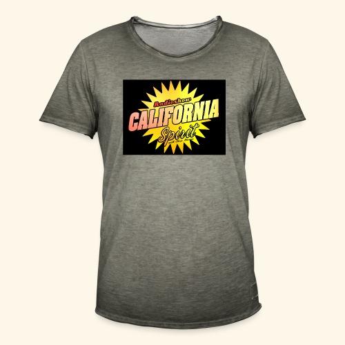 California Spirit Radioshow Classic - T-shirt vintage Homme