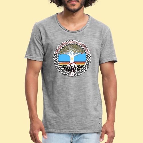 Médaillon d'AelYs - T-shirt vintage Homme