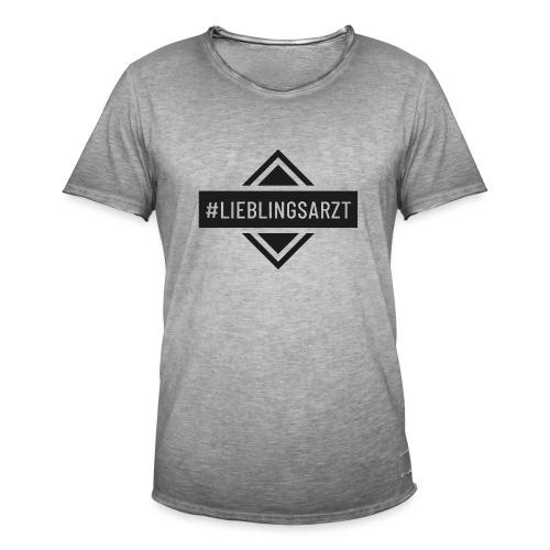 Lieblingsarzt (DR13) - Männer Vintage T-Shirt