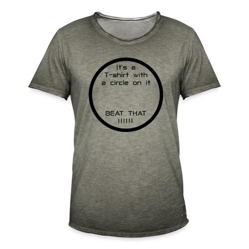 Circle - Men's Vintage T-Shirt