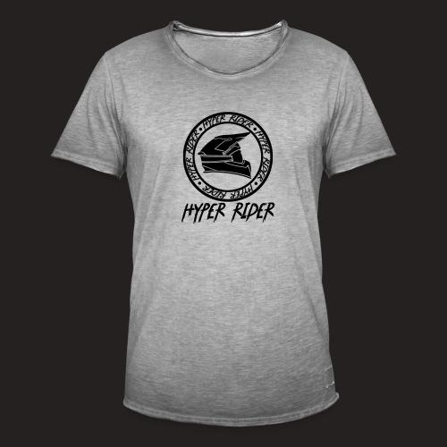 black back - Männer Vintage T-Shirt
