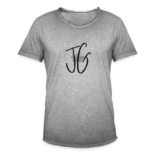 JG - JANNINA GAIDELL BRAND LOGO SHIRT - Männer Vintage T-Shirt