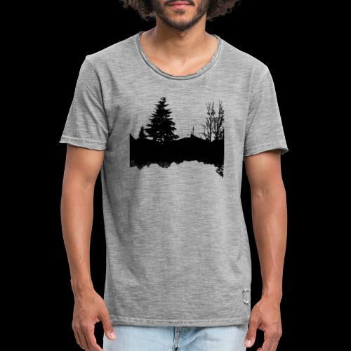 Sapin et racines - T-shirt vintage Homme