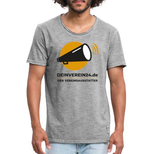 deinverein24 - Männer Vintage T-Shirt