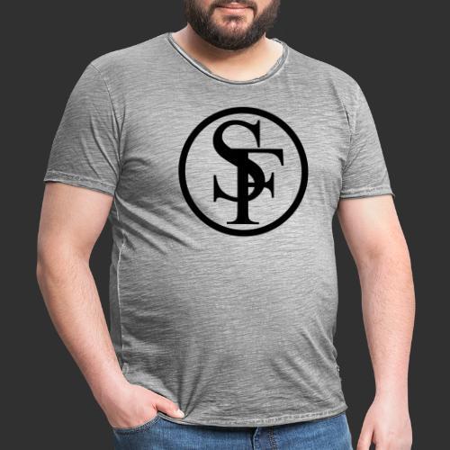 SINNFLUT circle - Männer Vintage T-Shirt